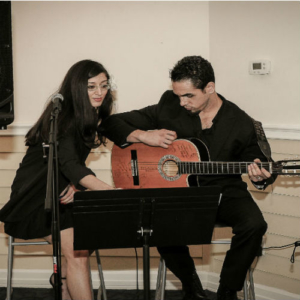 <b> Arianie and Ernesto Paez</b>